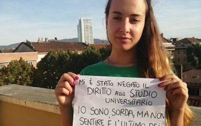 Giusy Covino, studentessa sorda, ha vinto la sua battaglia e ora potrà laurearsi