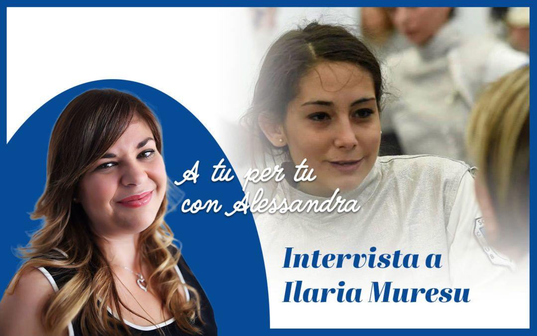 Intervista a Ilaria Muresu: l'immancabile sorriso dell'atleta paralimpica della squadra di Scherma