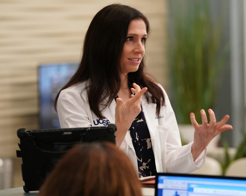 Shoshannah Stern la Dr. Riley di Grey's Anatomy