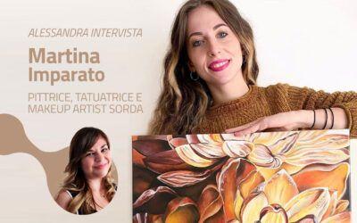 Intervista a Martina Imparato: pittrice, tatuatrice e makeup artist sorda