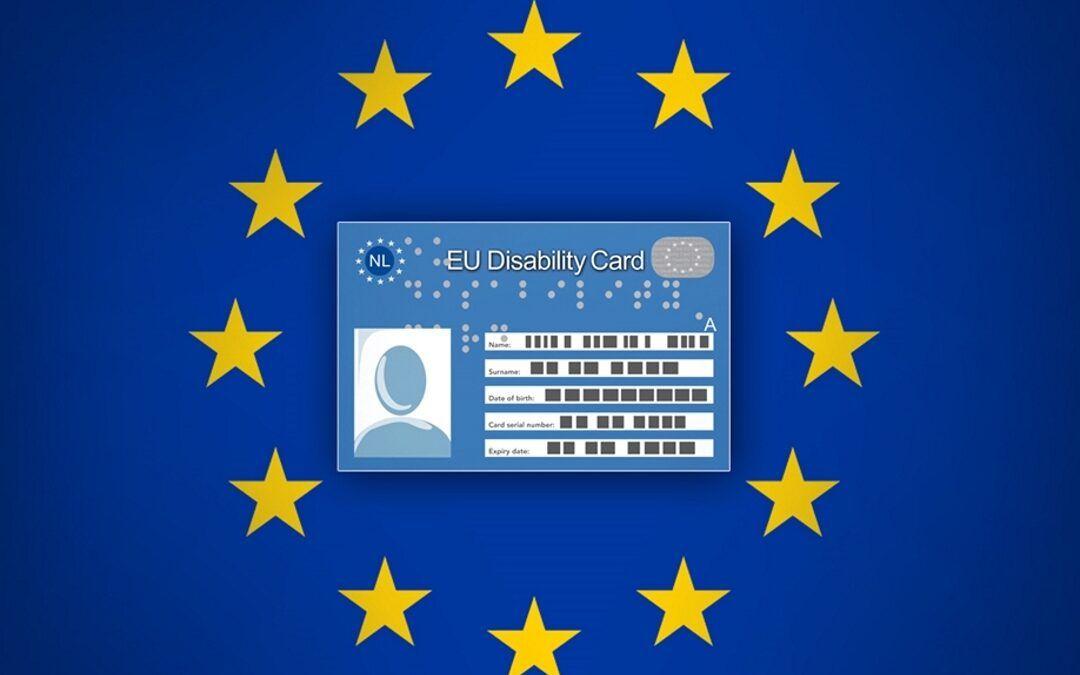 EU Disability Card: la tessera europea per le persone con disabilità, prime tessere entro il 2021