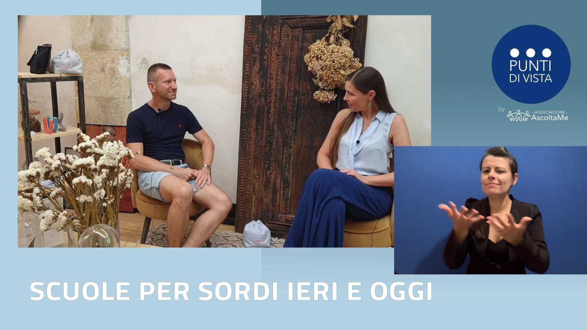 Intervista Enrico Dolza - direttore delll'Istituto Sordi